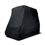 Black Universal Golf Cart Storage Cover