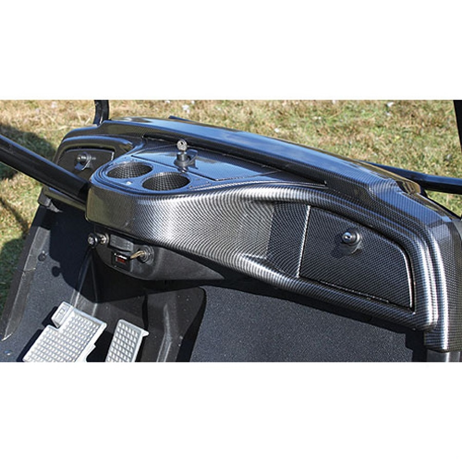 Carbon Fiber Custom Dash Yamaha Drive | Golf Cart Dash on golf carts for street use, bow rack, trailer gun rack, utv gun rack, automotive gun rack, honda gun rack, golf carts with guns, atv gun rack, horse gun rack, home gun rack, ezgo gun rack, rv gun rack, sedan gun rack,