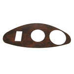 Woodgrain Dash Cover Plate for EZ GO RXV Freedom