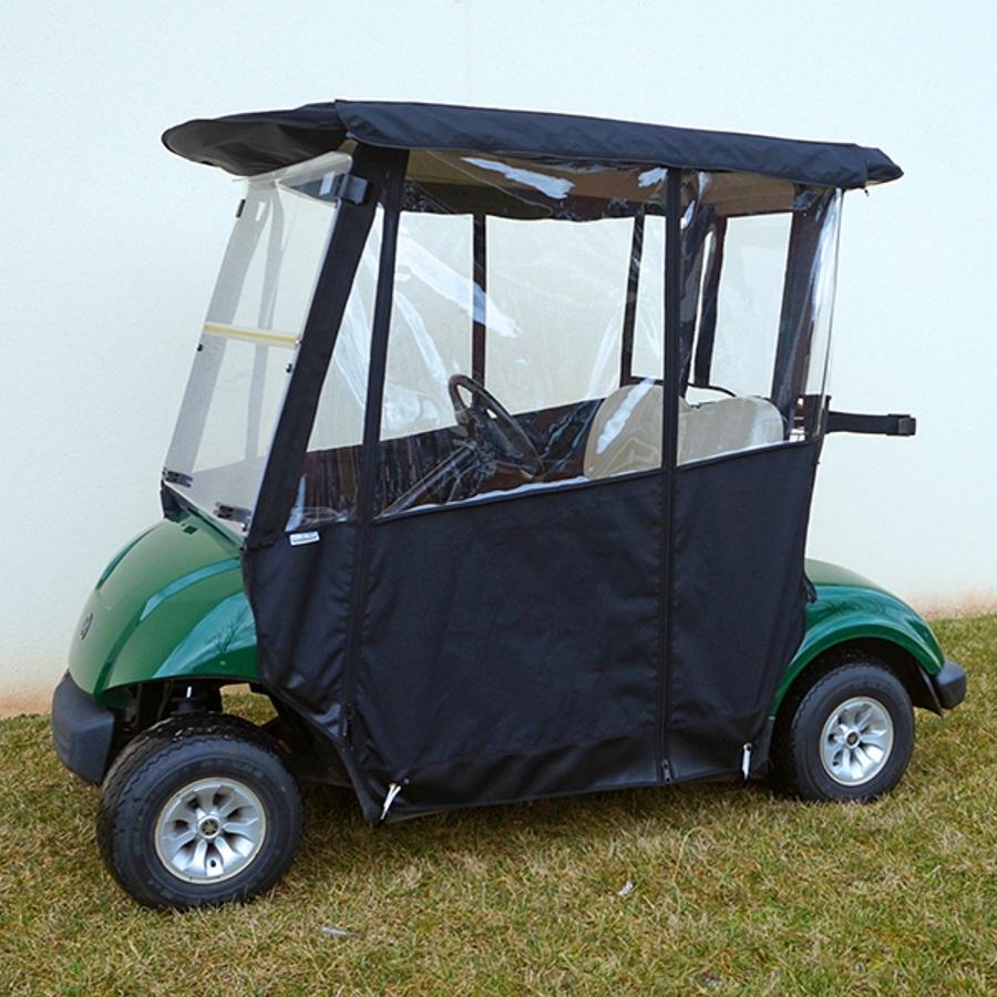 Yamaha Drive Drivable Enclosure | Yamaha Drive (G29) Enclosure ... on yamaha golf cart seat cover, yamaha drive golf cart, yamaha ez go golf cart enclosure,