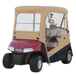 Deluxe Enclosure with Zip-Off Windshield for E-Z-GO RXV