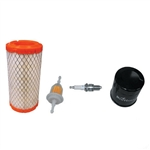 Tune Up Kit for EZ GO RXV & TXT (Kawa) w/ Oil Filter