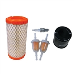 Tune Up Kit, Club Car Precedent 4-Cycle Gas w/ Oil Filter
