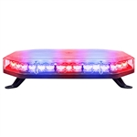 Roof mount law enforcement strobe light bar for golf carts