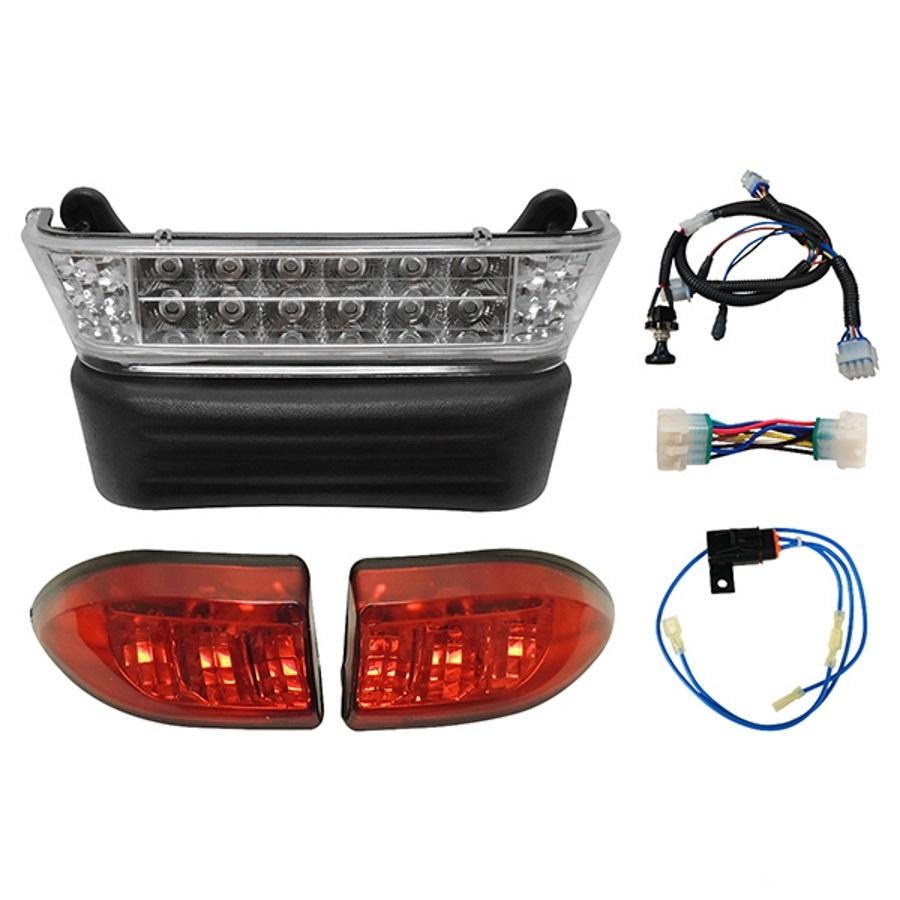 rhox upgradeable led club car precedent complete light kit