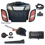 RHOX Basic Street LED Light Bar Kit for E-Z-GO RXV (08-15)