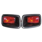 RHOX LED Tail Lights with Bezels for EZ GO TXT (96-13)