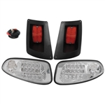 RHOX Clear LED Light Kit for E-Z-GO RXV (08-15)