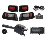 RHOX LED Deluxe Street Package Light Kit for EZ GO TXT (96-13)