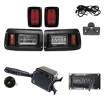 RHOX LED Club Car DS Deluxe Street Package Light Kit
