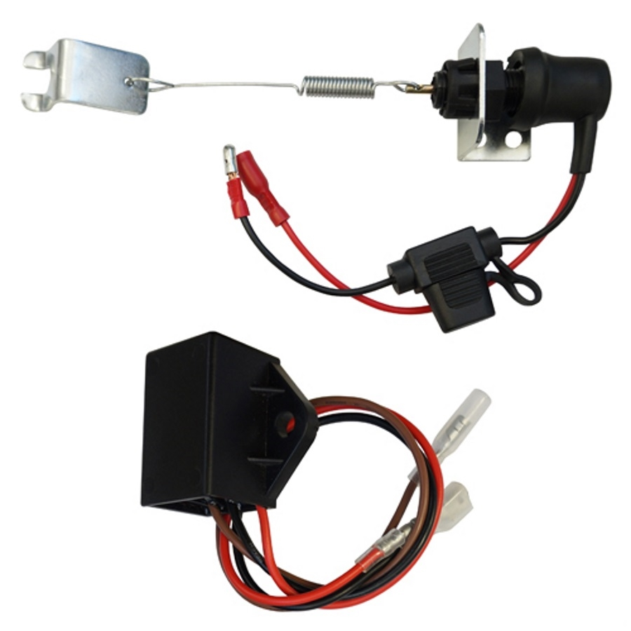 club car precedent brake light kit