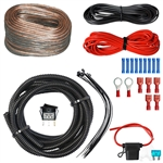 Amplifier Wiring Kit w/ LED Rocker Switch