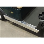 Diamond Plate Rocker Panel Set for Club Car Precedent