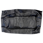 Black Seat Bottom Cover for EZ GO RXV (08-15)