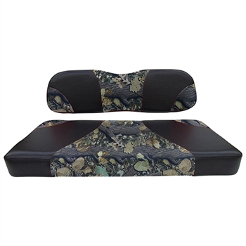 Black/Camo, Seat Covers for Club Car DS (00+)