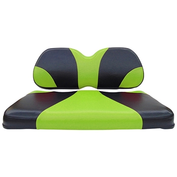 Black/Green, Seat Covers for Club Car Precedent