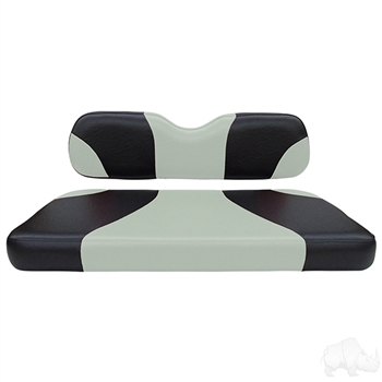 E-Z-GO RXV Custom Two-Tone Seat Cushions