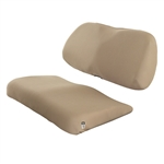 Sand, Padded Golf Cart Seat Cover
