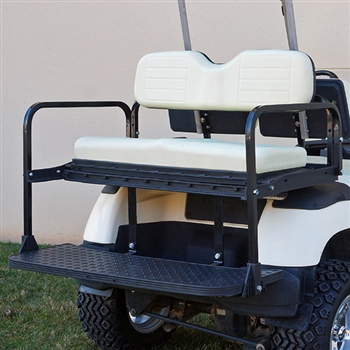 Aluminum RHOX RHINO 400 Rear Seat Kit for Yamaha Golf Carts