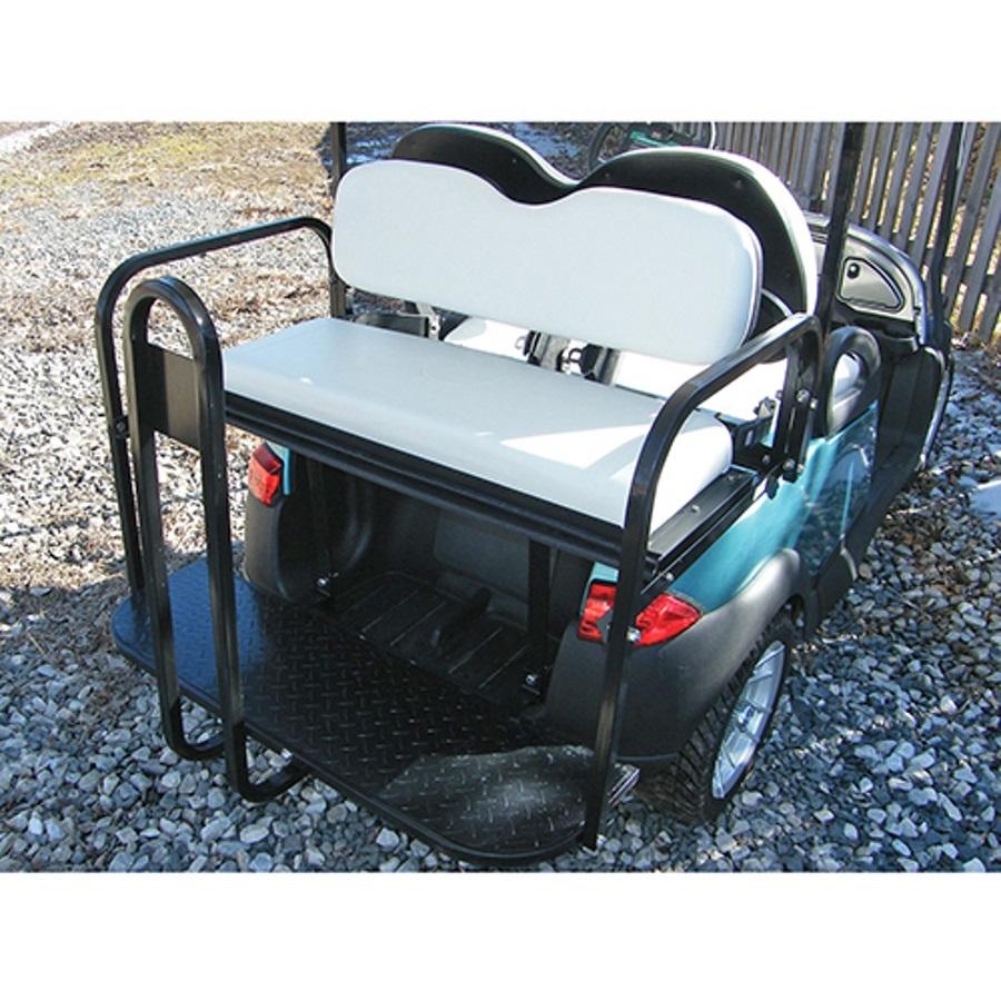Club Car Precedent Rear Seat Kit | Golf Cart Rear Seat Kit | Flip ...