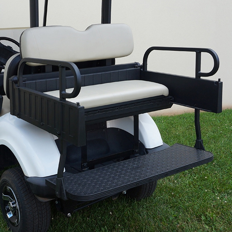 Yamaha Drive Rear Seat Utility Box Golf Cart Kit Flip Flop