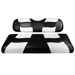 Madjax Riptide Seat Covers for Madjax Rear Seat Kit - Black with White