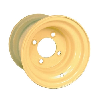"Beige Colored Stock 8"" Golf Cart Wheels"