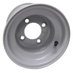"8"" Club Car Grey Replacement Golf Cart Wheels"