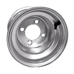 Silver Steel 8X7 Offset Wheel