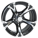 "AC508 Aluminum 15"" Golf Cart Wheels"