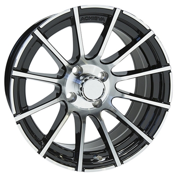 "Achieva AC518 Aluminum 15"" Golf Cart Wheels"