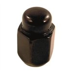 Black Acorn Lug Nut Metric M12x1.25
