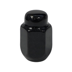 "Gloss Black Acorn 1/2"" - 20 Lug Nut"