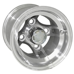 Brickyard, Machined 8X7 Offset Aluminum Wheel