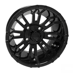 RHOX RX271 Black 12X7 Offset Aluminum Wheel