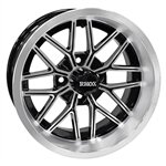 RHOX SS RX281 Machined / Black 14X7 Offset Aluminum Wheel
