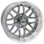 RHOX SS RX281 Machined / Silver 14X7 Offset Aluminum Wheel