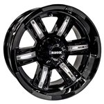 RX285 Gloss Black 14X7 Offset Aluminum Wheel
