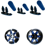 "Blue Wheel Inserts for 12"" RX250/RX252 Wheels"