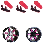 "Pink Wheel Inserts for 12"" RX250/RX252 Wheels"