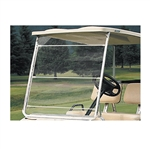 Portable Golf Cart Roll Up Windshield