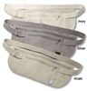 Anne Mcalpin Silk Money Belt Ivory