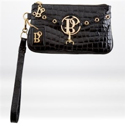 Bolzano City Stich Wristlet Black
