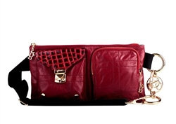 Bolzano Fiore Belt Bag Red 7071-02