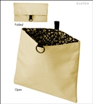 Clutch Bags Natural Canvas Lunch Bag