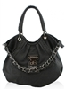 DollsBags TLC Leatherette Tote Black