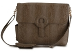 Kara B Brown Delancey Brief Bag Laptop Bag