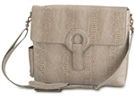 Kara B Cream Delancey Brief Bag Laptop Bag