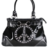 Katydid PEACE Handbag Black