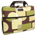 Kailo Chic Mod Green Squares Laptop Sleeve